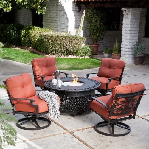 with fire pit seats 4 modern patio furniture and outdoor furniture