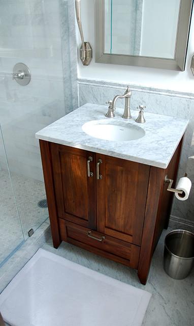 Vanity Side Splash : Mahogany and marble vanity tops side splashes