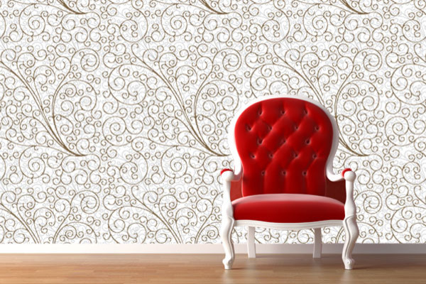Arabian window reusable wallpaper easy peel n stick your for Wallpaper for walls
