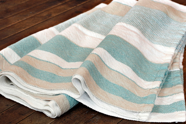 Luxurious Authentic Linen Day Blankets and Blankets Woven in USA contemporary