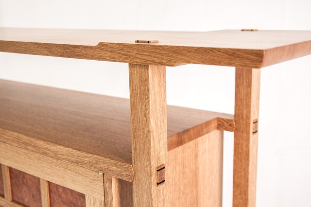 Garry Oak & Arbutus Cabinet - Contemporary - Buffets And Sideboards ...