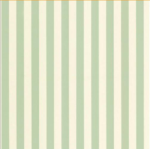 Green Pastel Two Tone Stripe Wallpaper Traditional