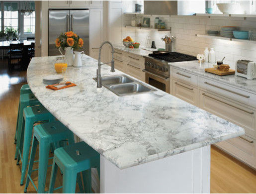 Kitchen Countertops and Cabinets modern-kitchen-countertops