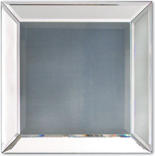 Beveled Glass Mirror traditional-mirrors