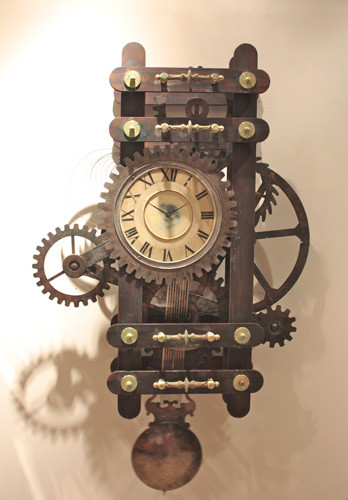 Old Style French inspired clocks and elegant time pieces eclectic-clocks