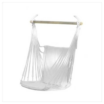 Cotton Padded Swing Chair contemporary-chairs
