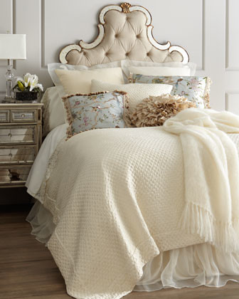 """King Marquis Coverlet, 108"""" x 92"""" traditional-quilts"""