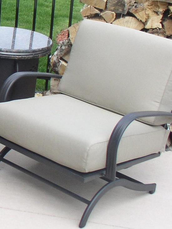 Rocking Chairs (Set of 2) - Comfortable and stylish Chat Rocker Chairs. Add a fire pit table to complete your Chat set. Chairs must be ordered in pairs.