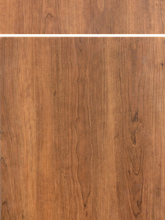 """Dura Supreme Cabinetry - Dura Supreme Cabinetry Capri Cabinet Door Style - Dura Supreme Cabinetry """"Capri"""" cabinet door style in Wood Grain Foil shown in Dura Supreme's """"Toffee"""" foil option."""