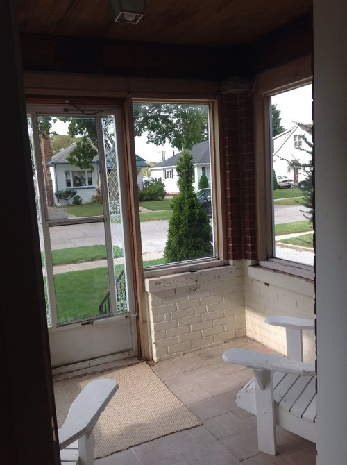 Need ideas for our small sunroom for Window covering ideas for sunrooms