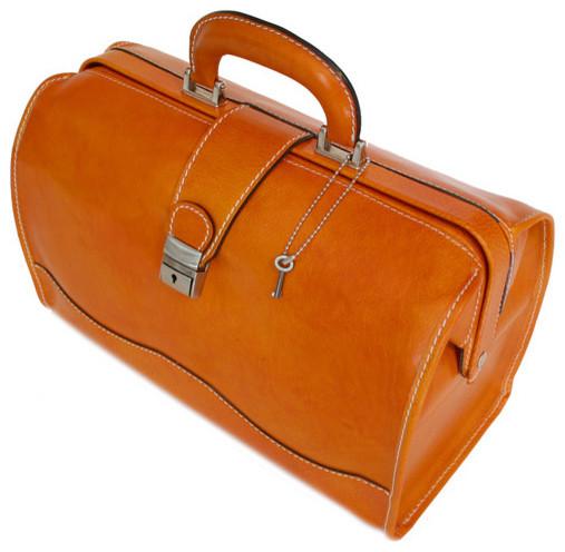 Ciabatta Leather Doctor Bag - Modern