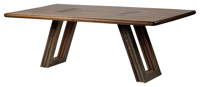 Bobby Reclaimed Wood Dining Table 84 Contemporary Dining Tables