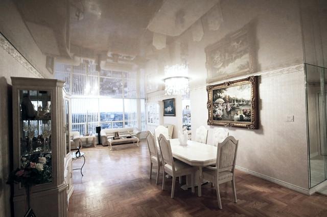 Condo Living Room contemporary-dining-room