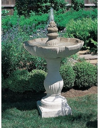 Outdoor Garden Water Features Eclectic Outdoor