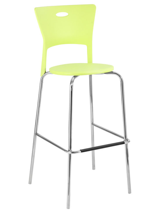 Mimi Bar Stools Stacker - GREEN