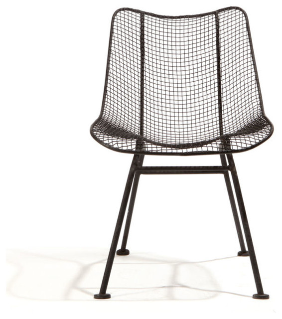 Wire Mesh Dining Chairs by Woodard at 1stdibs ...
