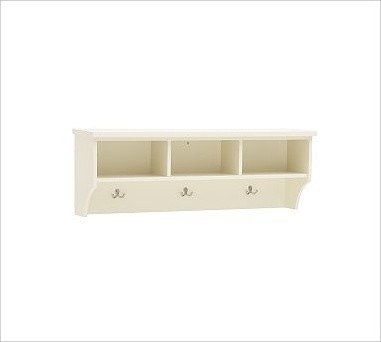 Samantha Shelf, Cream - Traditional - Display And Wall Shelves - by Pottery Barn