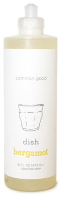 Common Good Dish Soap, Bergamot contemporary-household-cleaning-products