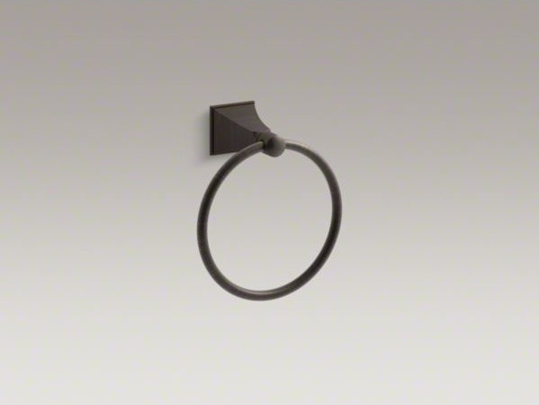 KOHLER Memoirs(R) Stately towel ring contemporary-towel-bars-and-hooks