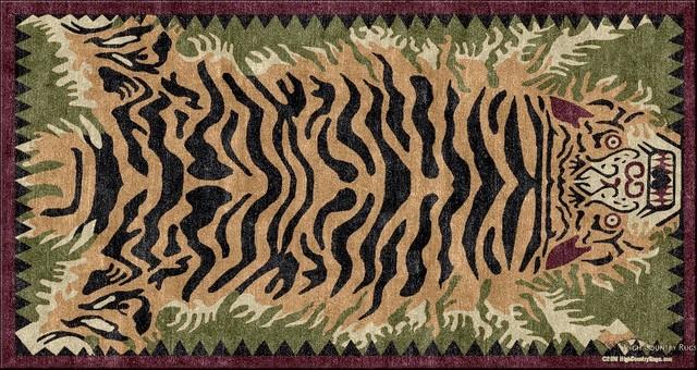 Nature Series Custom Rug Designs eclectic-rugs