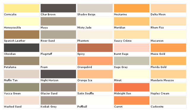 Beige Color Chart With Names Pictures To Pin On Pinterest