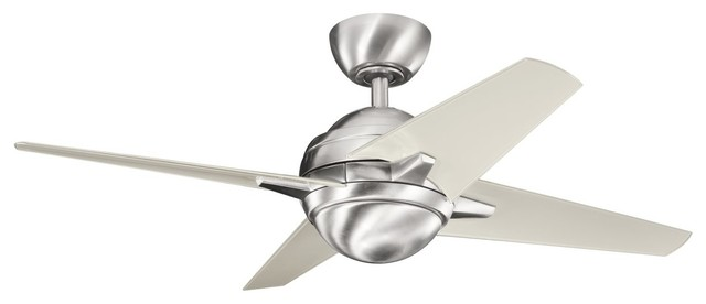 "Kichler Lighting Rivetta II 42"" DC Motor Contemporary Ceiling Fan X-SSB741003 contemporary-ceiling-fans"