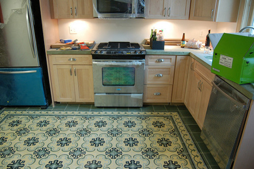 Cement Tile - Installed Patterns