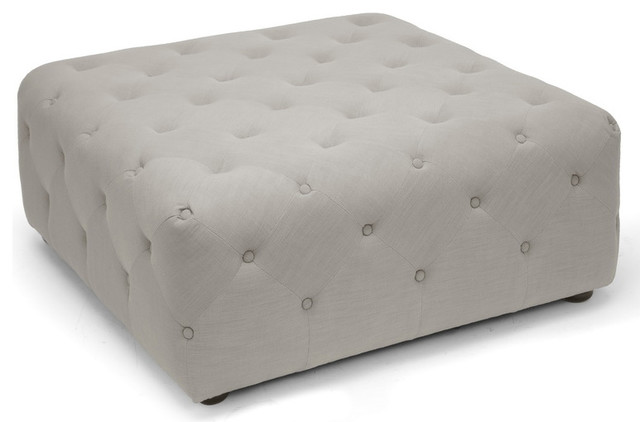 Square Tufted Ottoman contemporary-footstools-and-ottomans