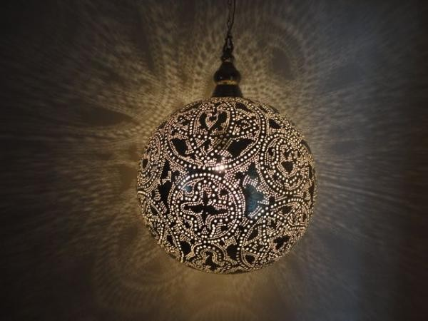 Moroccan Brass Lantern Pendant Lighting on Houzz