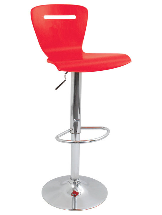 H2 Bar Stool - RED