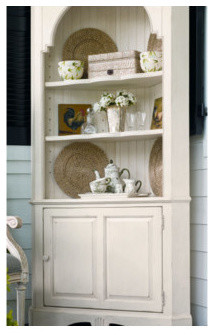 The Bag Lady's Corner China Cabinet modern-china-cabinets-and-hutches