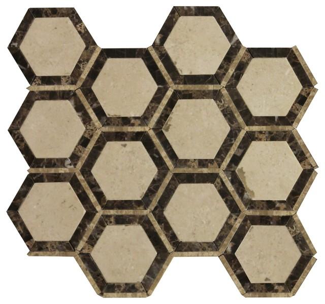 Soci Marble And Limestone Mosiacs Tile SSW-906 - HomeThangs.com tile