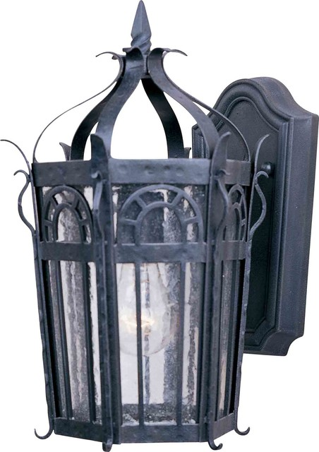 Maxim Lighting 30041CDCF Cathedral Country Forge Outdoor Wall Sconce transitional-outdoor-wall-lights-and-sconces