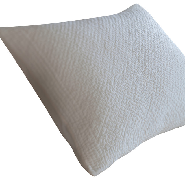 Grace Ivory Standard Sham traditional-pillowcases-and-shams