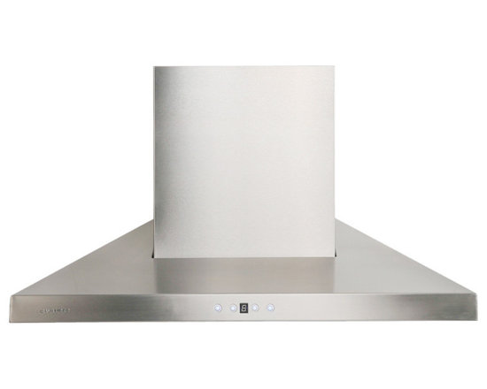 "Cavaliere - Cavaliere AP238-PSL 30"" Wall Mounted Range Hood - Cavaliere Stainless Steel 230W Wall Mounted Range Hood with 6 Speeds, Timer Function, LCD Keypad, Stainless Steel Baffle Filters, and Halogen Lights"
