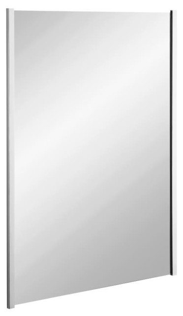 Kohler k 11579 cp loure 24 bathroom mirror in polished chrome traditional bathroom mirrors Polished chrome bathroom mirrors