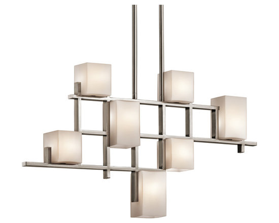 Grandiose Chandeliers - City Lights - Chandelier Linear 7Lt Halogen