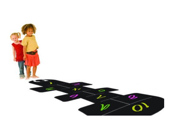 Writable wall decals - Dezign with a Z HopScotch floor decals will be the center of attention of your playroom, kids room or school. This multifunctional decal will decorate your space and at the same time it will give a space for your kids to draw and exercise indoors.