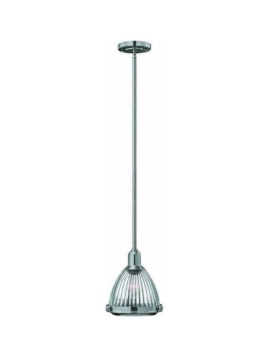 Hinkley Lighting 3100BN 1 Light Pendant Mid-Pendant Collection -