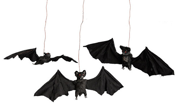 Spooky Bats traditional-holiday-decorations