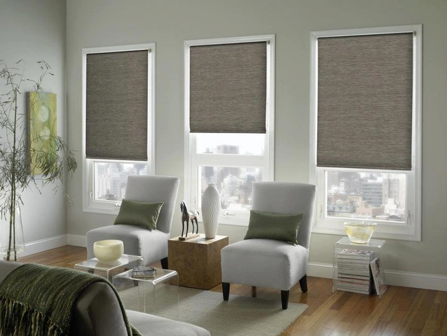 Custom printed roller shades midcentury roller shades for Mid century modern windows