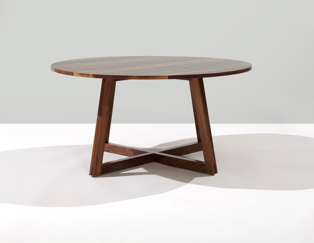 Finn small round coffee table contemporary toronto for Table quiz rounds
