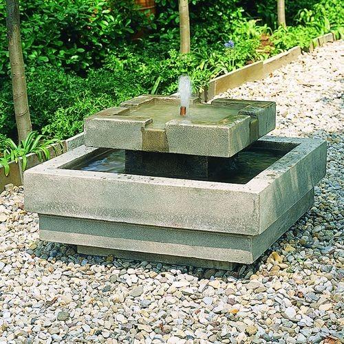 Outdoor Garden Water Features Mediterranean Outdoor
