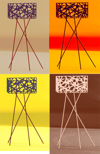 ARTEXTURAL - Lighting floor-lamps