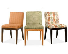 Dining Chairs, Any Fabric - Room & Board contemporary dining chairs and benches
