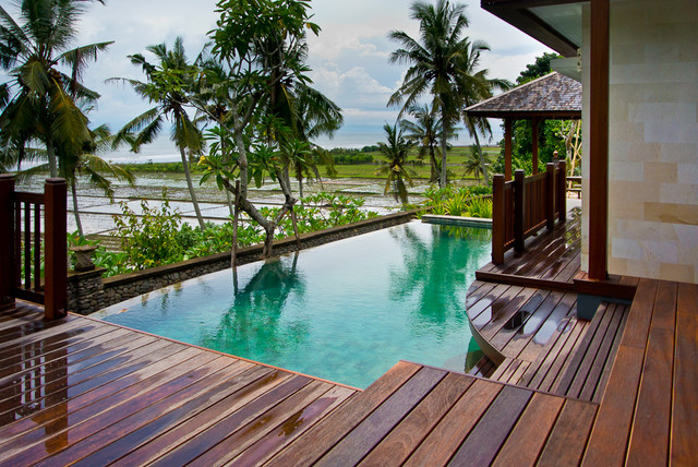 Bali architecture design tropical hot tub and pool for Pool design bali