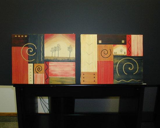 Affinity Credit Union - Artwork - Artwork by Debra Lampshire for Affinity Credit Union