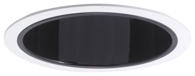 """Nora NTA-98 6"""" Cone Reflector with Ring, Nta-98b modern-recessed-trims"""