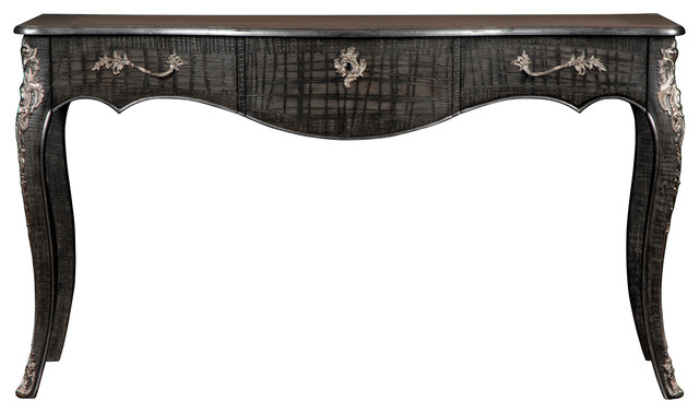 French Heritage Dominic Console eclectic-console-tables