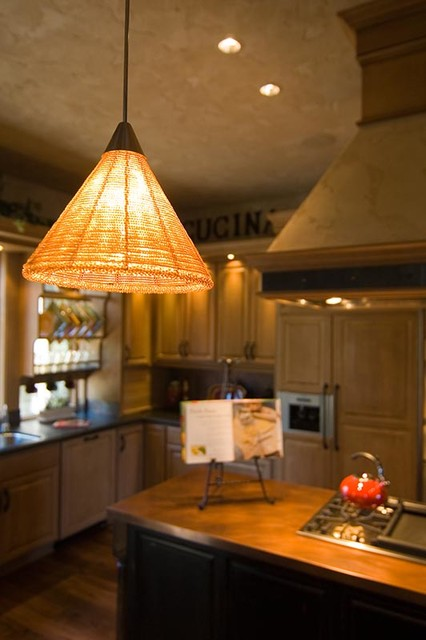 Tuscan style interiors for a Bend OR home. traditional